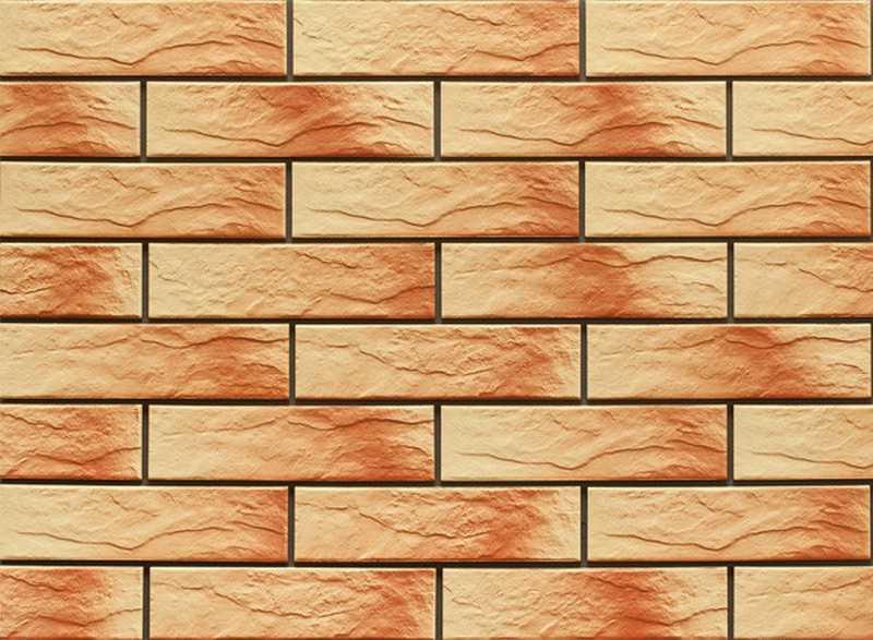Клинкерная фасадная плитка: удачная отделка цоколя