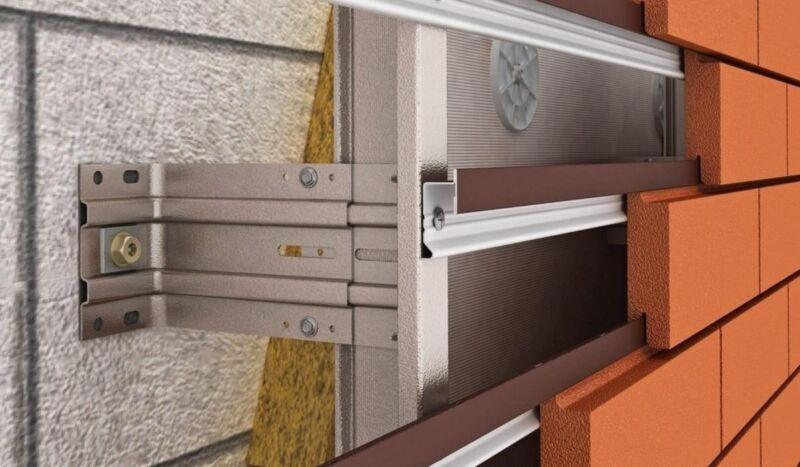 Крепление клинкерной плитки к стене дома